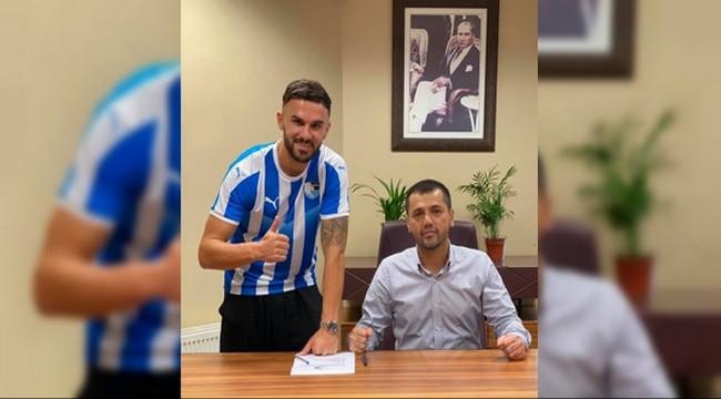 BB Erzurumspor, Armando Sadiku ile 2 yıllık sözleşme imzaladı