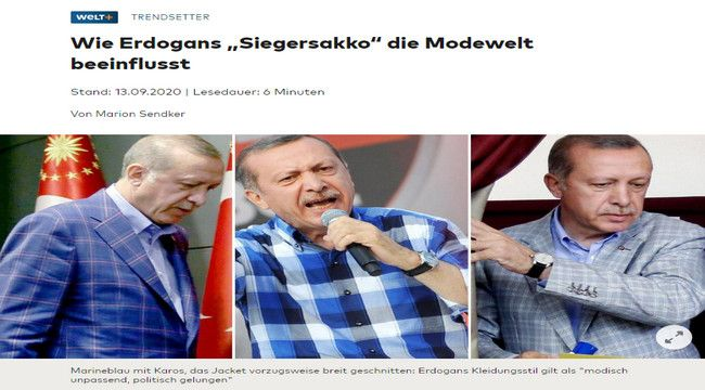 Erdoğan'ın ceketi...