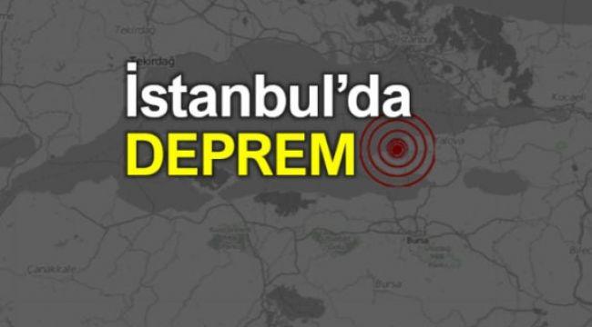 İstanbul ve Tekirdağ Sallandı