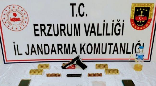 Bunlar Erzurum'da ele geçirildi, 6 şüpheliden 2'si tutuklandı