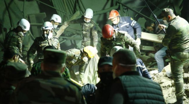 Katil Maşa Ermeni, Gence'yi Gece Vurdu