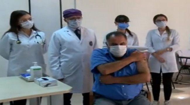Türkiye'de ikinci doz yapıldı
