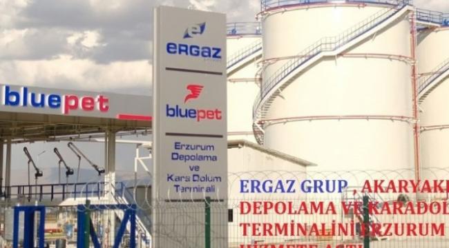 Bluepet, Doğu Anadolu Bölgesinde akaryakıt depolama ve karadolum terminali kurdu