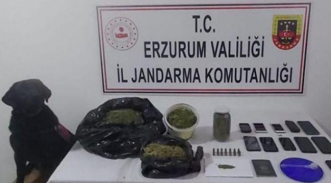 Erzurum'da silah ve mühimmat kaçakçılığı; 3 gözaltı