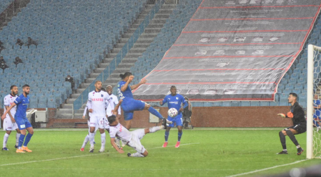 Trabzonspor :1 - BB Erzurumspor: 0 (var+penaltı= 2)