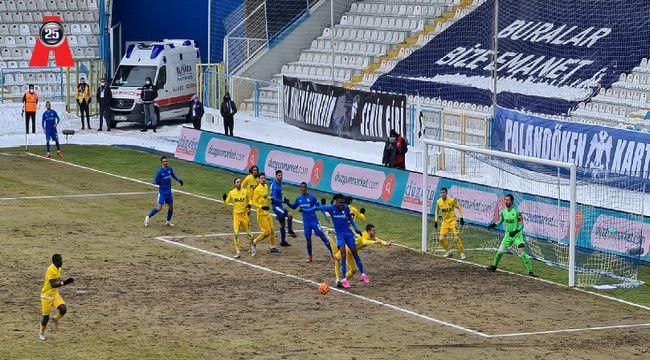 BB Erzurumspor: 1 - MKE Ankara (HAKEM) gücü: 0