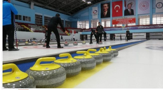 Türkiye Curling 1. Lig müsabakaları sona erdi