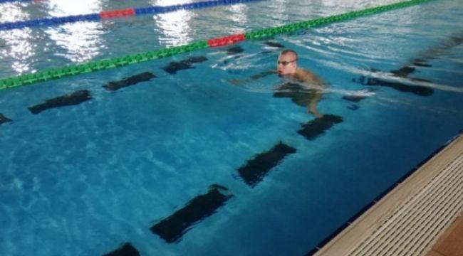 Erzurum yüzme milli takımlarının gözdesi oldu