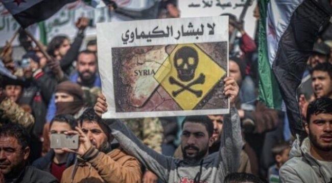 Suriye rejimi kimyasal silahlarla katliamlara...
