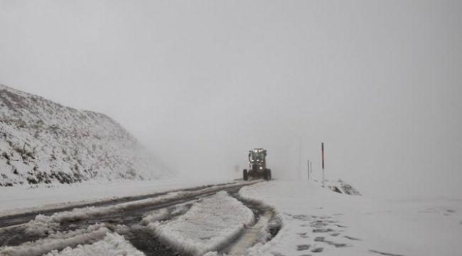 Doğu'da yüksek kesimlerde kar etkisini sürdürüyor