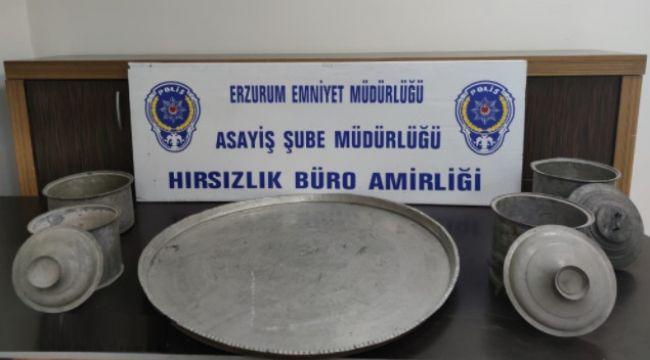 Erzurum'da 10 şüpheliden 6'sı tutuklandı