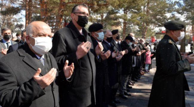 Erzurum'da 18 Mart töreni