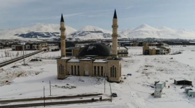 ETÜ'deki cami Ramazan'da ibadete açılıyor