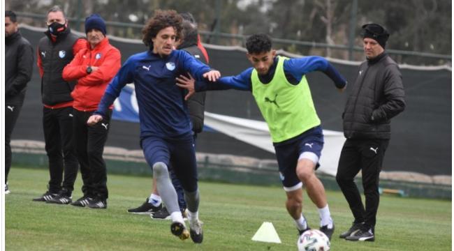 BB Erzurumspor, Başakşehir maçı hazırlıklarına başladı