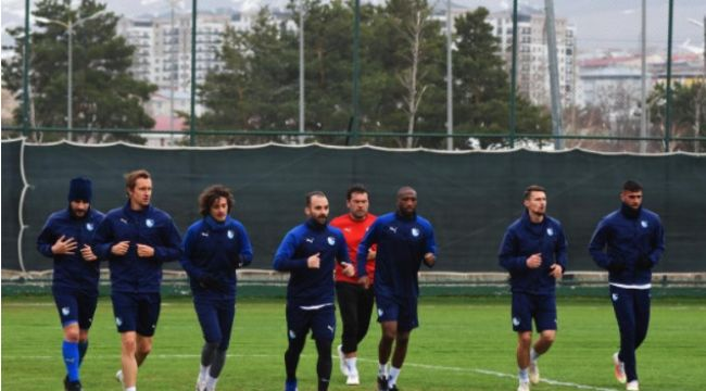 BB Erzurumspor'da Yeni Malatyaspor maçı hazırlıkları