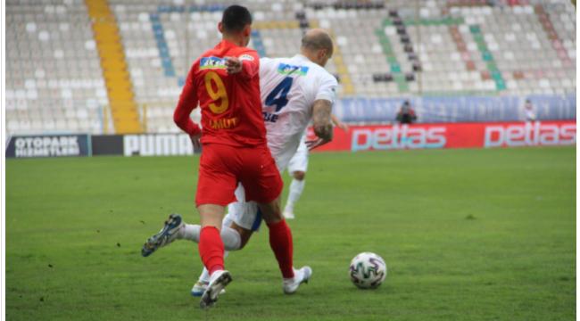 HAKEME RAĞMEN; BB Erzurumspor: 1 - Yeni Malatyaspor: 0