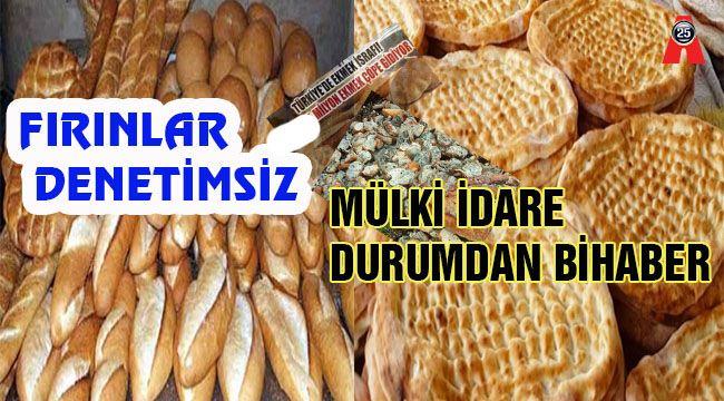 Çoklu ekmek üretimi ciddi israfa neden oluyor