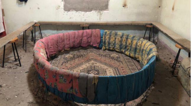 Erzurum'da horoz arenası boş kaldı