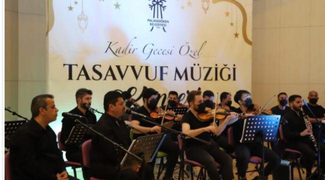 Palandöken Belediyesi'nden çevrimiçi tasavvuf müziği konseri