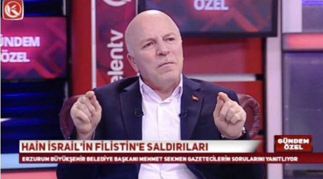 """Sekmen: """"Ermeni soykırımı uydurulmuş kocaman bir yalandır"""""""