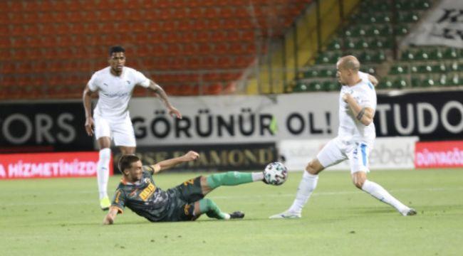 Supür Lige Veda; Aytemiz Alanyaspor: 2 - BB Erzurumspor: 3