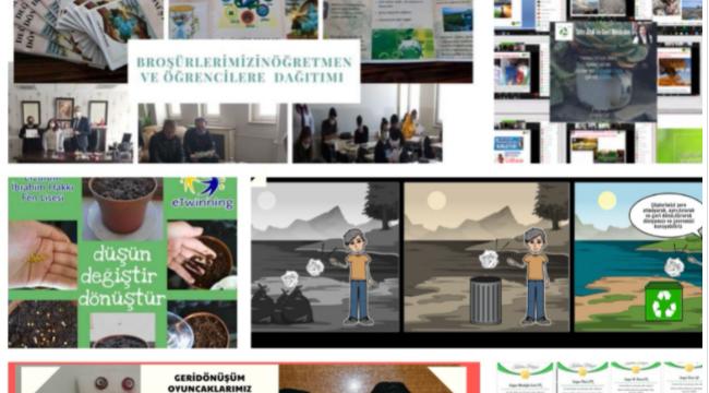 Düşün-Değiştir-Dönüştür eTwinning projesi