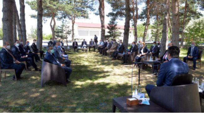 Erzurum'da pandemi kurulu toplandı