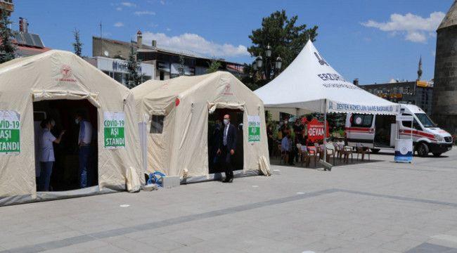 """Sağlık Müdürü Dr. Bedir: """"Erzurum için aşı zamanı; Biz Hazırız..."""""""