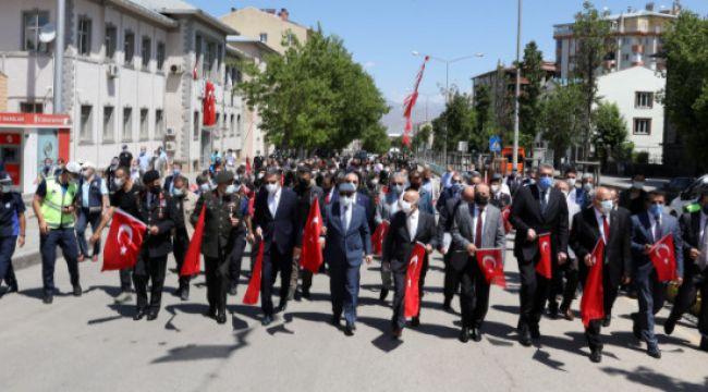 Atatürk'ün Erzurum'a gelişinin 102'nci yıldönümü etkinlikleri
