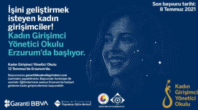 Erzurum'daki kadın girişimcilere yönetici eğitimi