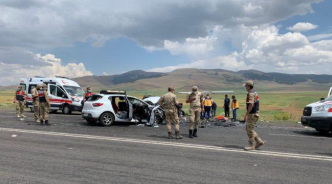 Kaza sonrası anayol savaş alanına döndü