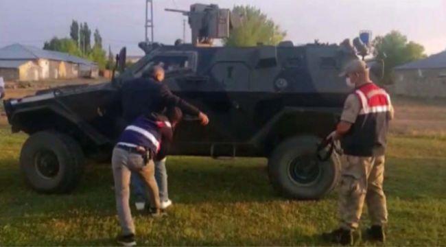 PKKKCK terör örgütüne yardım ve yataklık eden 7 şahıs operasyonla yakalandı