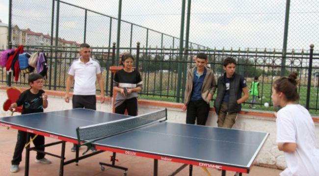 Aziziye Gençlik'te spor şöleni