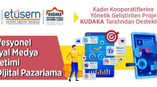 Bu proje KUDAKA tarafından desteklendi