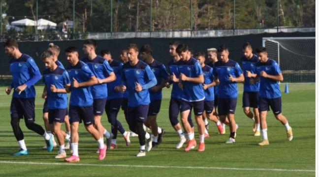 Bursaspor'a hazırlık