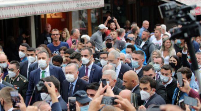 Cumhurbaşkanı Erdoğan Bosna Hersek'te...
