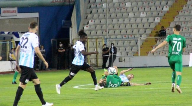 Dadaş 3 puanla tanıştı; BB Erzurumspor: 2 - Bursaspor: 1