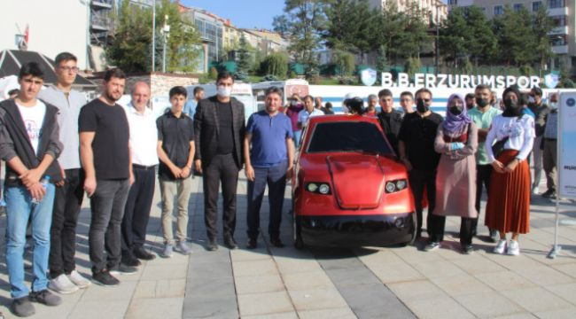 İmam Hatipli öğrencilerin elektrikli araba başarısı