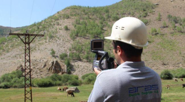 Orman yangınlarını engellemek için termal kameralı gözlem