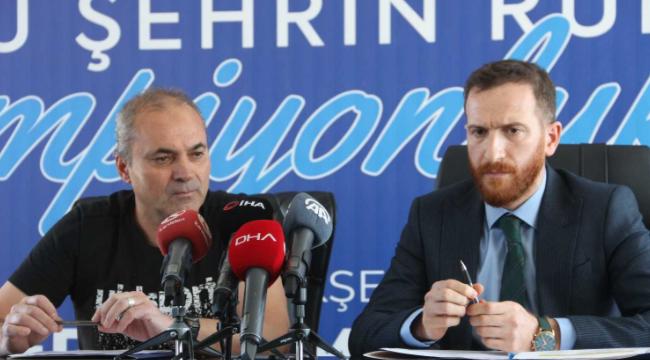 """BB Erzurumspor Asbaşkanı Ahmet Dal: """"""""Bizi Süper Lig'den düşüren zihniyet, Süper Lig'e çıkmamıza engel olamayacak"""""""""""