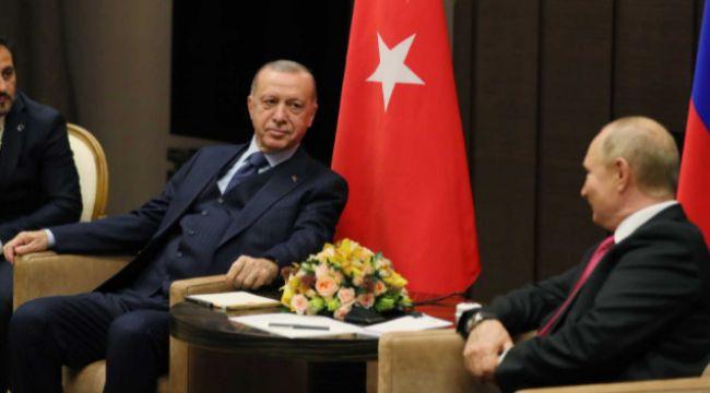 """Cumhurbaşkanı Erdoğan: """"Suriye'nin barışı yine Türkiye-Rusya ilişkilerine bağlı"""""""