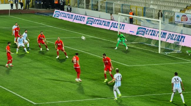TFF 1. Lig: BB Erzurumspor: 0 - Ümraniyespor: 2