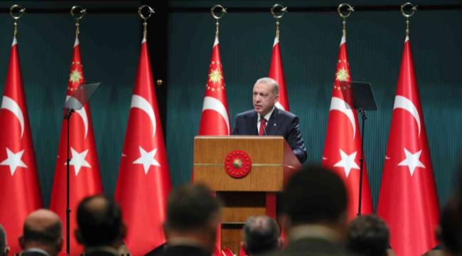 """Cumhurbaşkanı Erdoğan: """"Artık tahammülümüz kalmamıştır"""""""