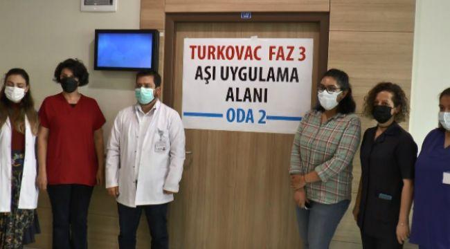 Erzurum'da da yerli aşı Turkovac'ın Faz-3 çalışması başladı