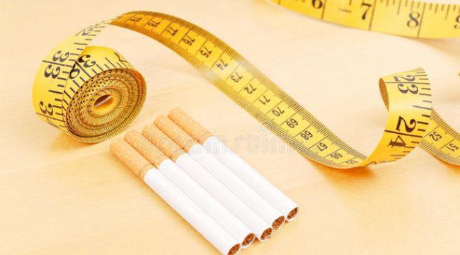 Kilo almadan sigarayı bırakmak çok kolay