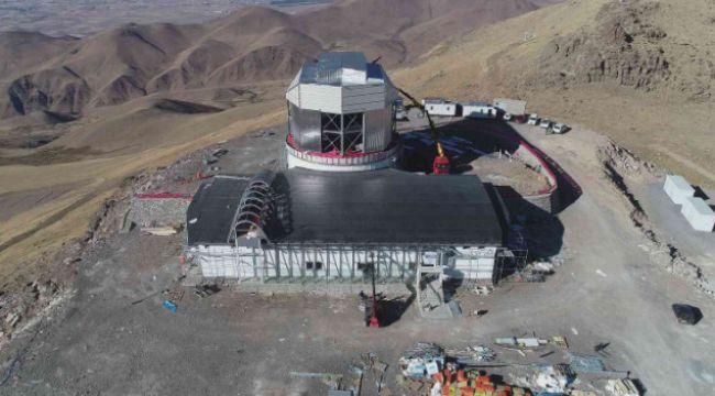 Türkiye'nin en büyük kızılötesi teleskobunda sona gelindi