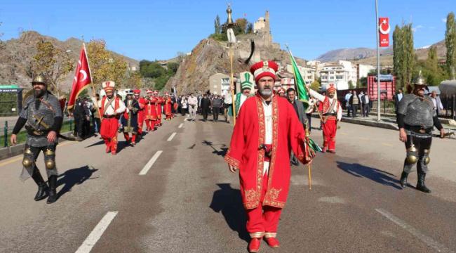 Uluslararası Tarihi İspir Panayırı kortej yürüyüşüyle başladı